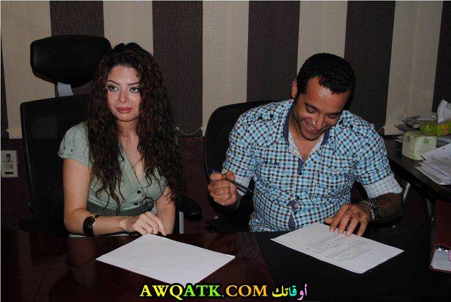 صورة جديدة للنجمة المصرية نسمة ممدوح