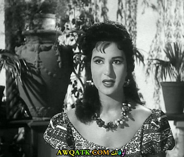 صورة قديمة للممثلة نعيمة عاكف