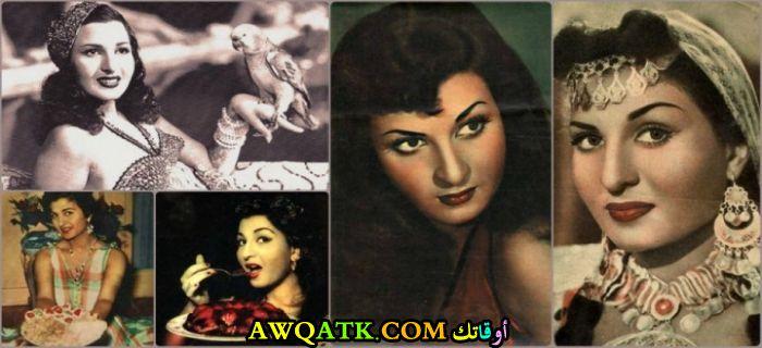 صورة مجمعة جميلة للفنانة المصرية نعيمة عاكف