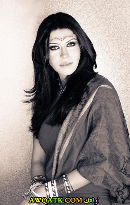 لعشاق الفنانة نور السمرى صورة جميلة وجديدة
