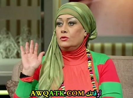 أحدث صورة للفنانة المصرية هالة فاخر