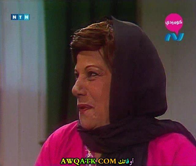 صورة قديمة للممثلة هانم محمد