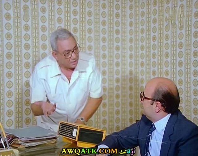 صورة قديمة ورائعة للنجم المصري أحمد أبو عبية