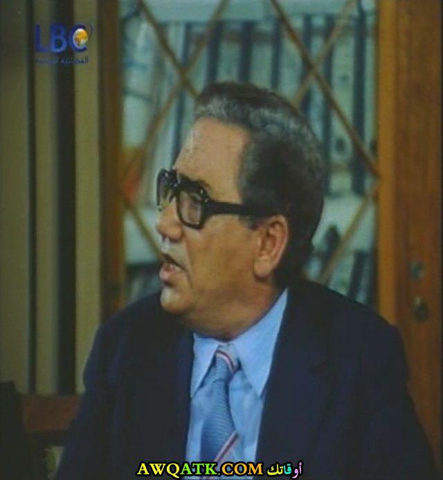 صورة الفنان المصري أحمد أبو عبية داخل فيلم