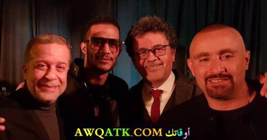 أحمد السقا ومحمد رمضان