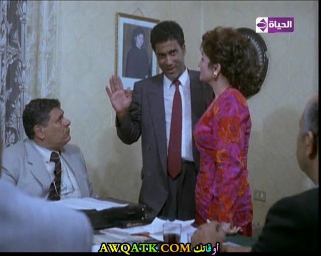 صورة الفنان المصري أحمد عقل داخل فيلم