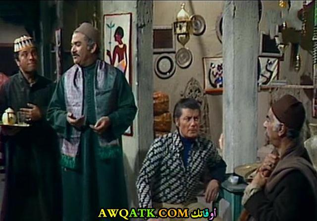 صورة الفنان المصري إبراهيم الشامي داخل فيلم