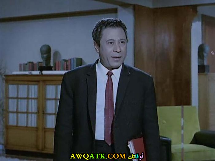 صورة الفنان المصري إبراهيم سعفان داخل فيلم
