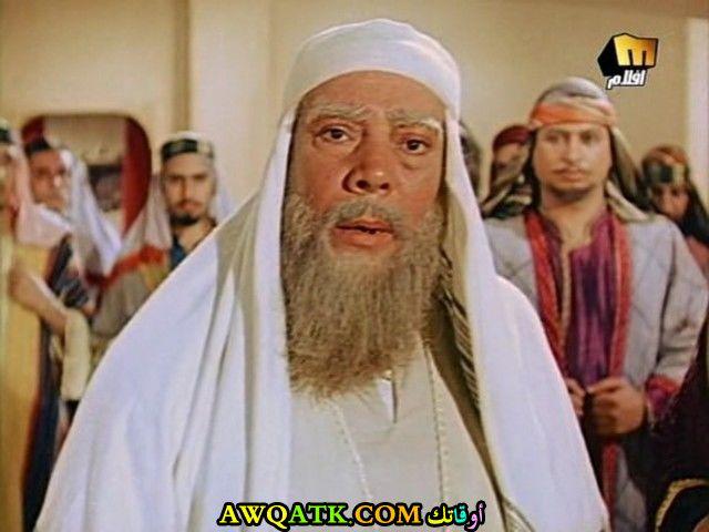 صورة الفنان المصري إبراهيم عمارة داخل فيلم