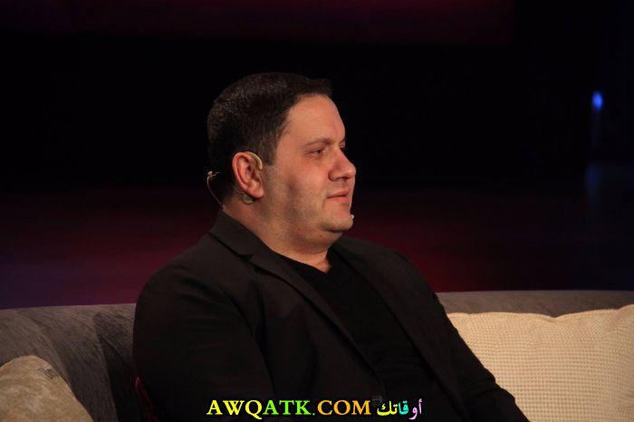 أحدث صورة للفنان المصري إدوارد