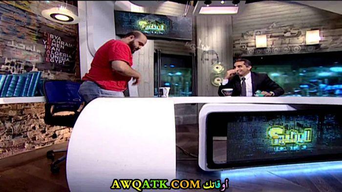 صورة الفنان المصري الأسطى زلطة في مقابلة