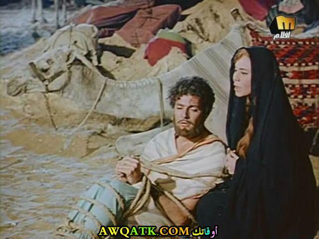 صورة الفنان المصري ايهاب نافع داخل فيلم مع زوجته ماجدة