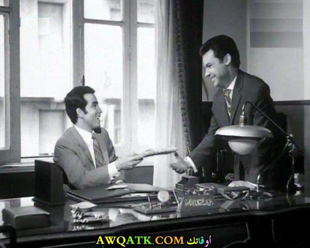 صورة قديمة للممثل بدر الدين جمجوم