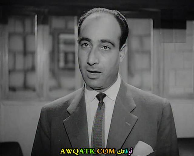 صورة قديمة للممثل بدر نوفل