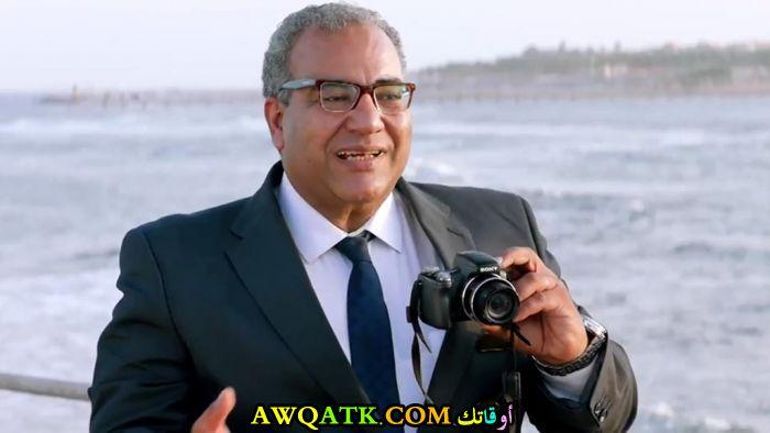 صورة جديدة للنجم المصري بيومي فؤاد
