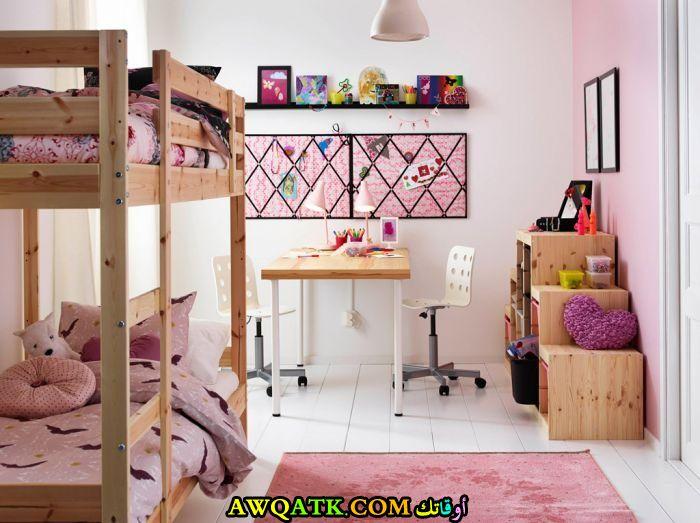 غرفة نوم ايكيا للبنات روعة