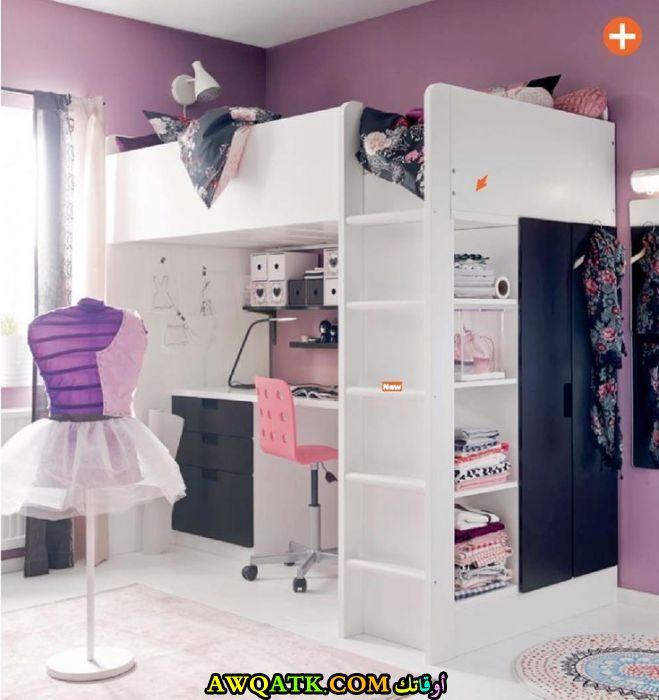 تصاميم غرف نوم للبنات إيكيا