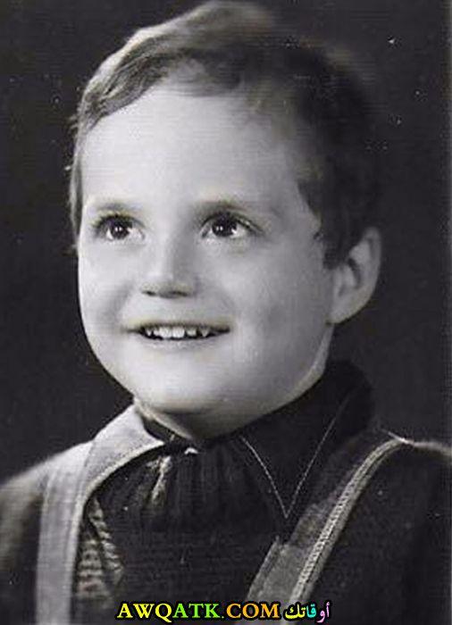 صورة الفنان حازم سمير وهو طفل صورة قديمة نادرة