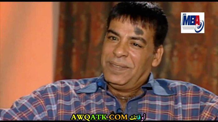 صورة قديمة للممثل حسن الأسمر