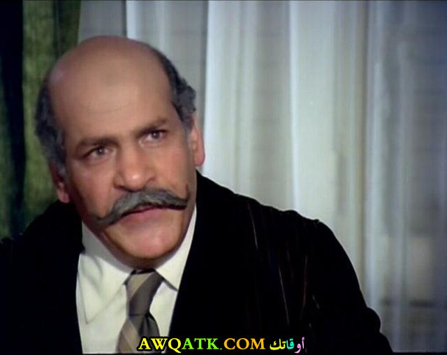 صورة قديمة ورائعة للنجم المصري حسن عابدين