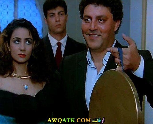 صورة الفنان المصري حسين الإمام داخل فيلم