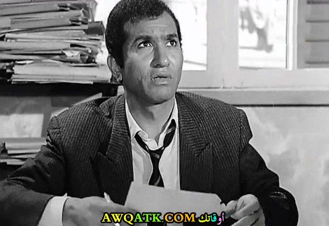 صورة قديمة للممثل حمدي أحمد
