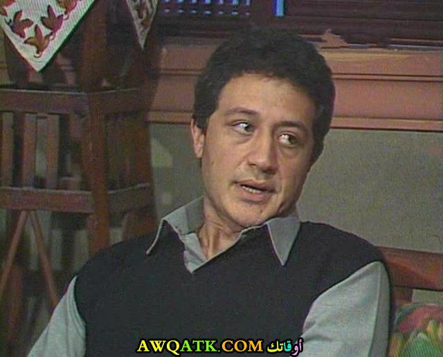 صورة قديمة للممثل خالد زكي