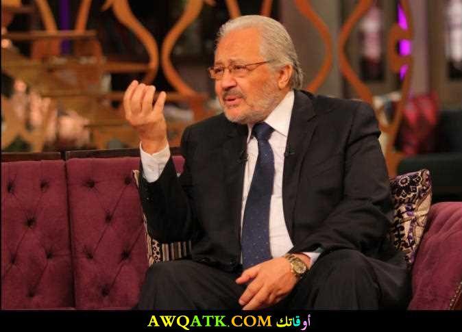 أحدث صورة للفنان المصري خالد زكي