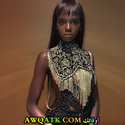 اشهر عارضة أزياء سودانية