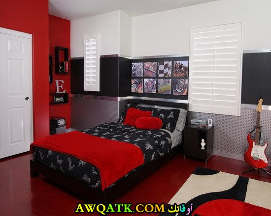 غرفة نوم جديدة ورائعة