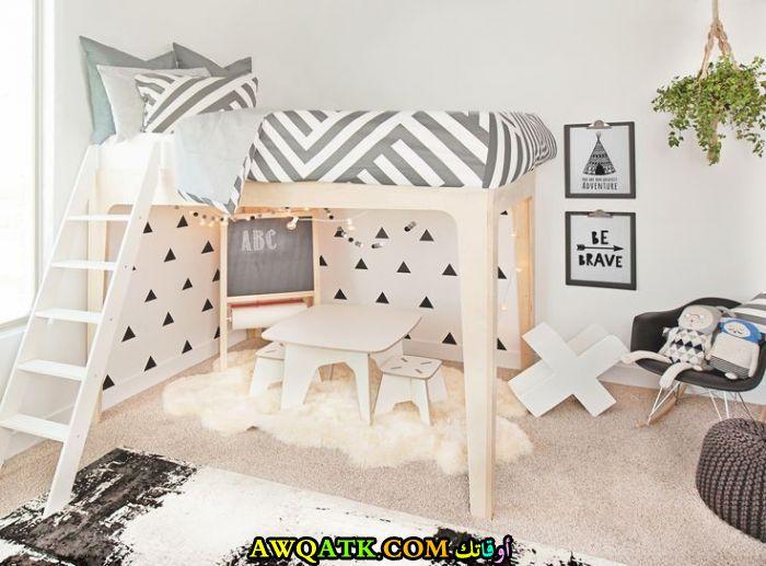 غرفة نوم أطفال حديثة رائعة