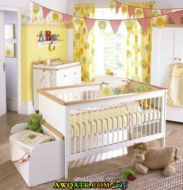 غرف نوم أطفال حديثي الولادة شيك جداً