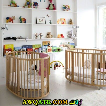 غرفة نوم جديدة وجميلة