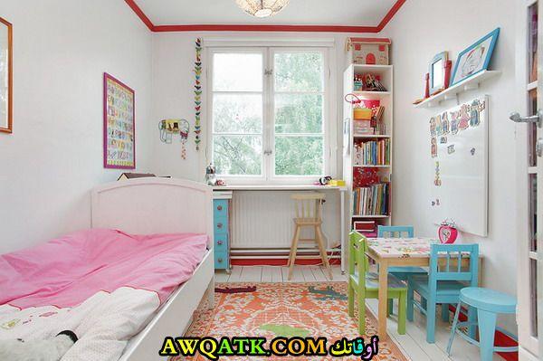 غرفة نوم للمساحات الصغيرة رائعة