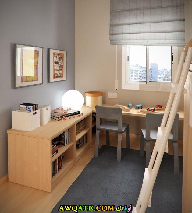 غرفة نوم روعة للمساحات الصغيرة