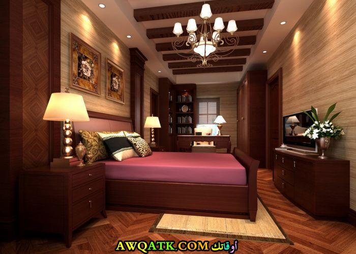 غرفة نوم أمريكية كلاسيك جميلة جداً