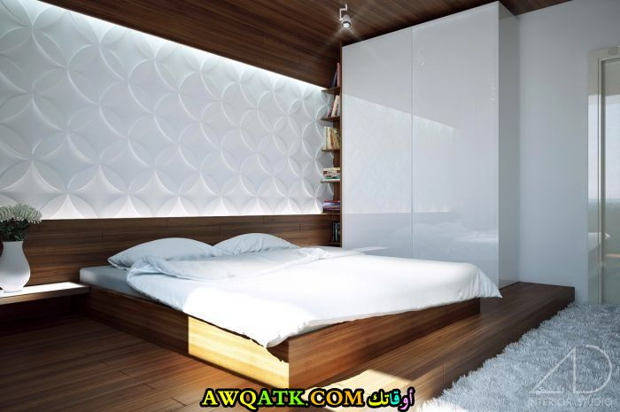 غرفة نوم أمريكية مودرن