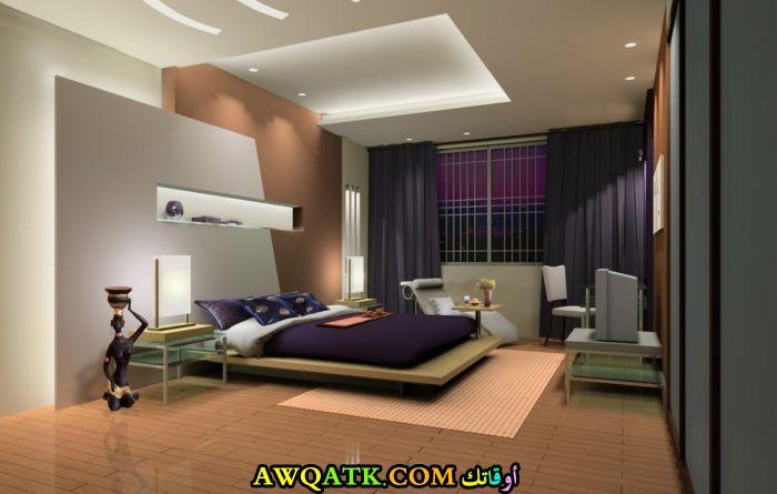 غرفة نوم جميلة وروعة