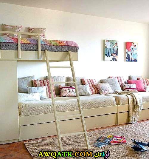 غرفة نوم ثلاث بنات شيك جداً