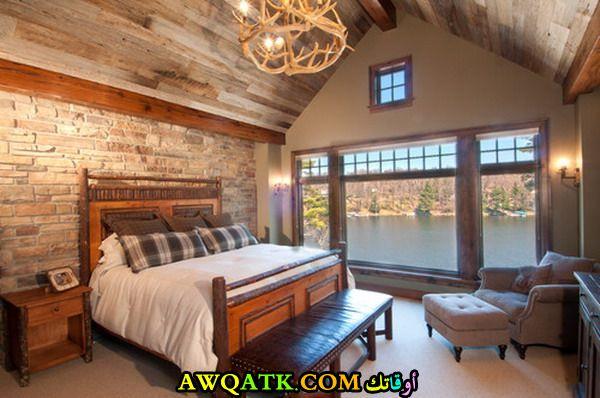 غرفة نوم حجر جميلة جداً