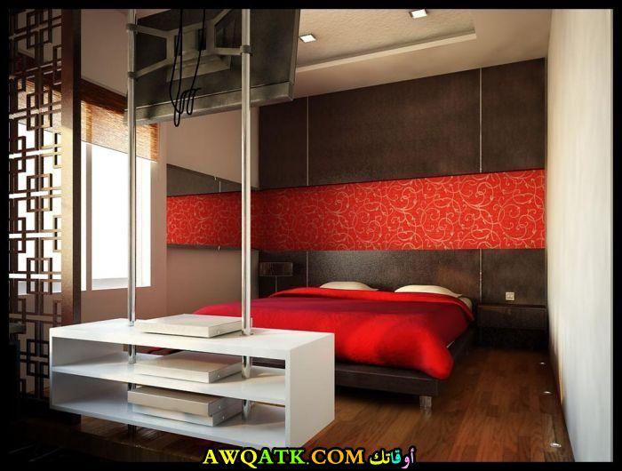 غرفة نوم حمراء جديدة