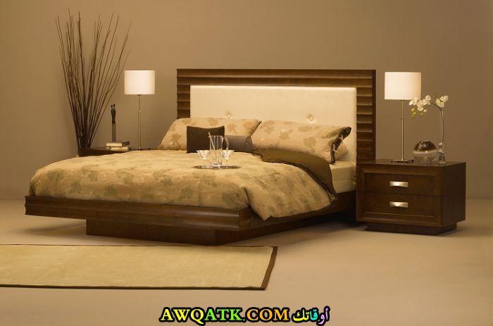 ديكورات غرف نوم خشب بسيطة