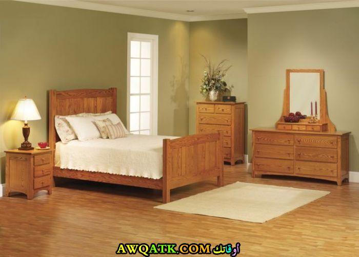 غرفة نوم خشب بلوط روعة