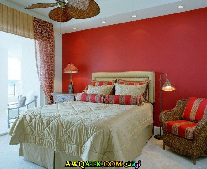 غرفة نوم طلاء في منتهي الشياكة