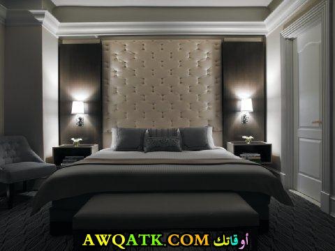 غرفة نوم فخمة وجديدة