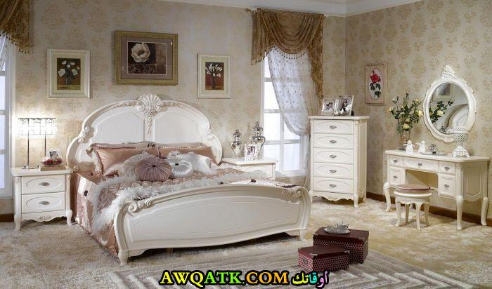 غرفة نوم فرنسية قمة الشياكة