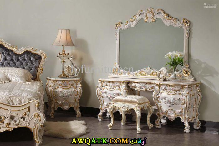غرفة نوم فرنسية جميلة