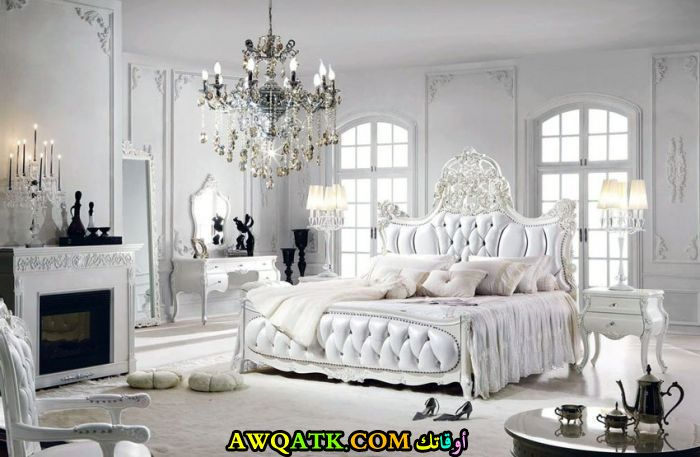 غرفة نوم فرنسية فخمة