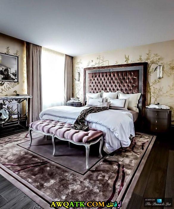 غرفة نوم فخمة وجميلة