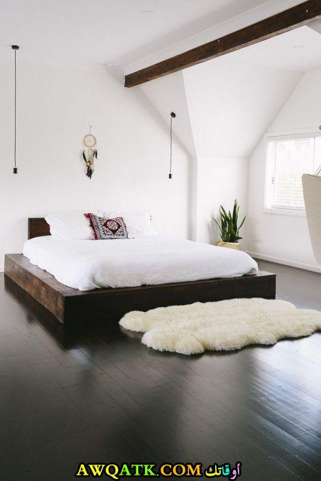 غرفة نوم قمة الهدوء والجمال